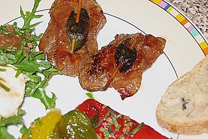 Kalbsschnitzel mit Schinken und Salbei 15