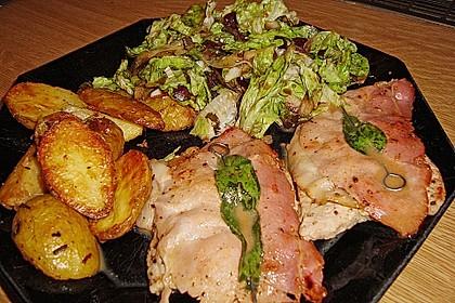 Kalbsschnitzel mit Schinken und Salbei 7