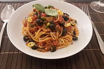 Spaghetti alla Puttanesca 3
