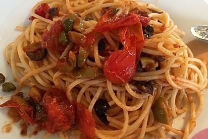Spaghetti alla Puttanesca 15