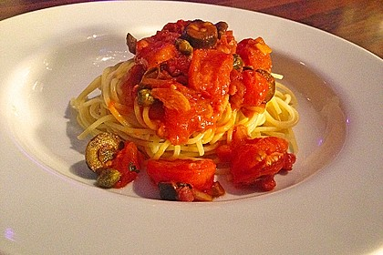 Spaghetti alla Puttanesca 8