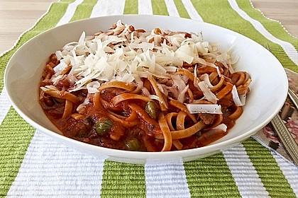 Spaghetti alla Puttanesca 6