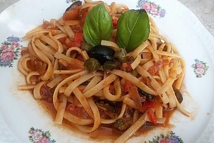 Spaghetti alla Puttanesca 14