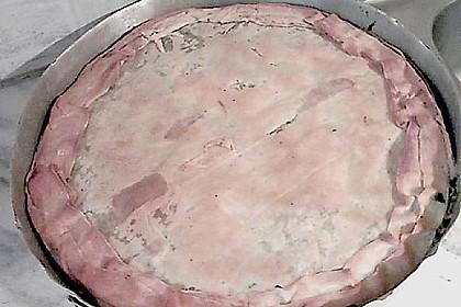 Pita mit Spinat und Ziegenkäse 4