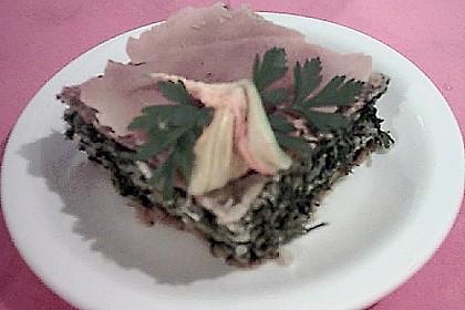 Pita mit Spinat und Ziegenkäse 5