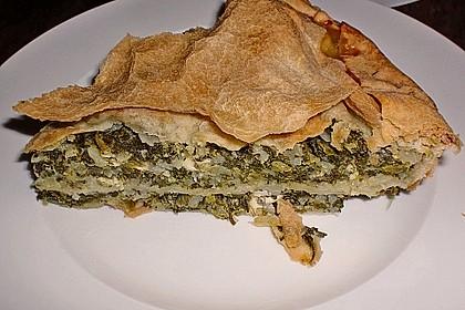 Pita mit Spinat und Ziegenkäse 1