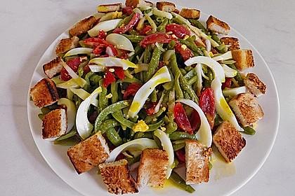 Alberto's grüner Bohnensalat spezial