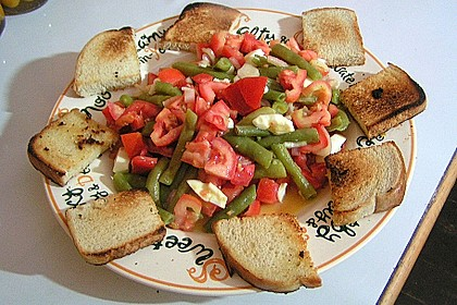 Alberto's grüner Bohnensalat spezial 2