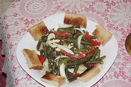 Alberto's grüner Bohnensalat spezial 3