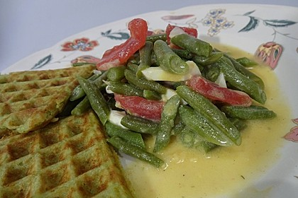 Alberto's grüner Bohnensalat spezial 1