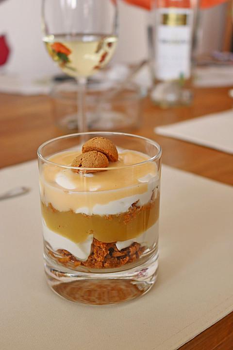Amarettini Apfel Dessert Von Rudi1106 Chefkoch