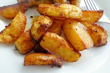 Kartoffelspalten aus dem Ofen 10