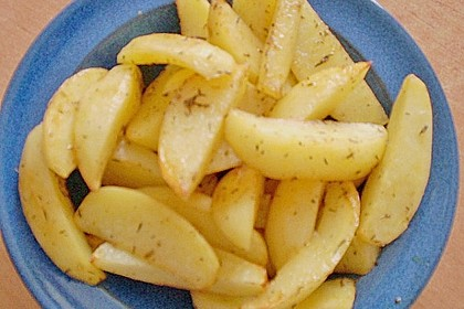 Kartoffelspalten aus dem Ofen 17