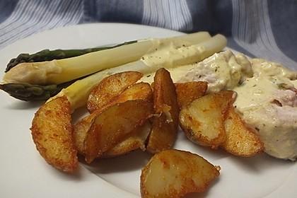 Kartoffelspalten aus dem Ofen 2