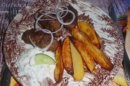 Kartoffelspalten aus dem Ofen 11