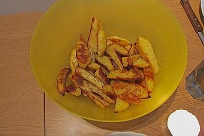 Kartoffelspalten aus dem Ofen 18