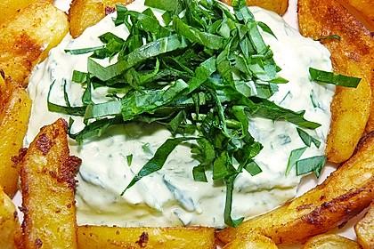 Kartoffelspalten aus dem Ofen 7