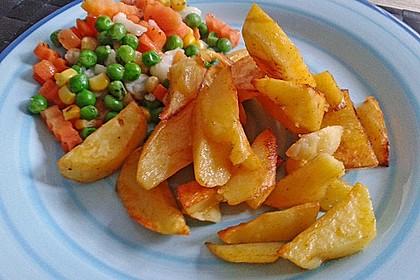 Kartoffelspalten aus dem Ofen 12