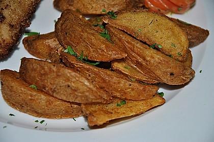 Kartoffelspalten aus dem Ofen 9