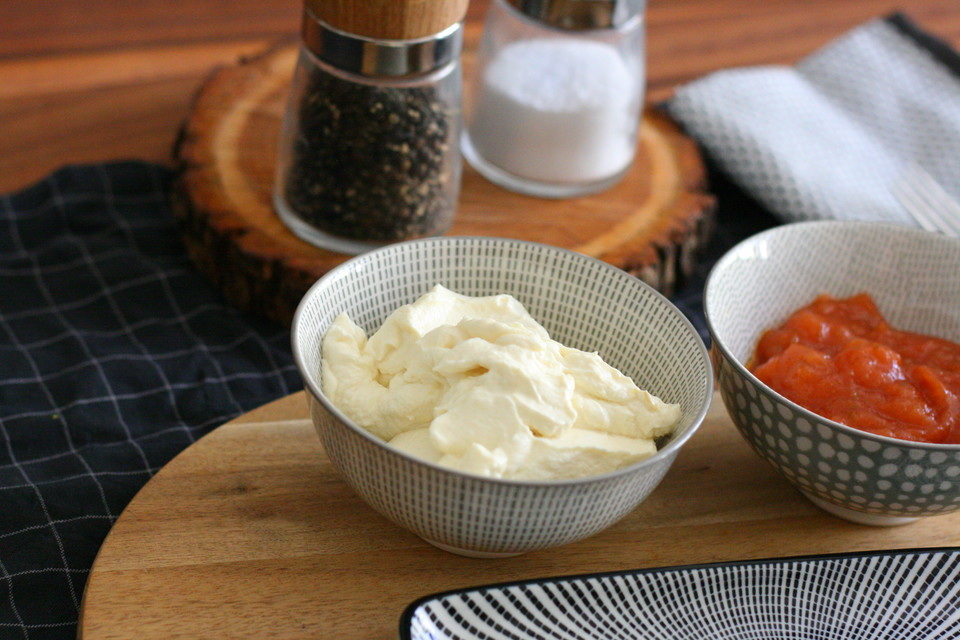 mayonnaise ohne ei mit joghurt
