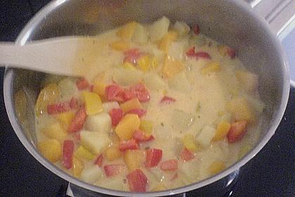 Kartoffel - Curry mit Pfirsich 40
