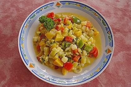 Kartoffel - Curry mit Pfirsich 19