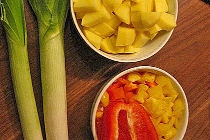 Kartoffel - Curry mit Pfirsich 38