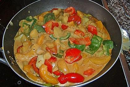 Kartoffel - Curry mit Pfirsich 27