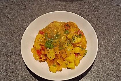 Kartoffel - Curry mit Pfirsich 39