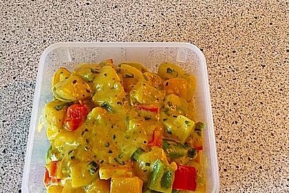 Kartoffel - Curry mit Pfirsich 24