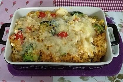 Brokkoli-Hirse mit Feta/Schafskäse 19