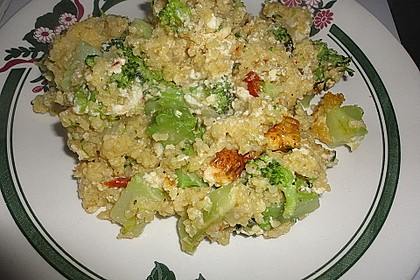 Brokkoli-Hirse mit Feta/Schafskäse 18