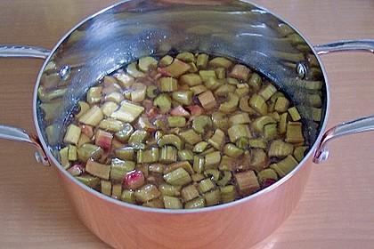 Rhabarber - Marmelade mit Ingwer 4