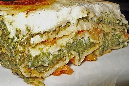 Lasagne mit Spinat 1