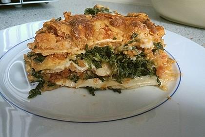 Lasagne mit Spinat 2