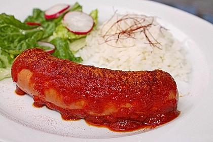 Currysauce für Currywurst 4