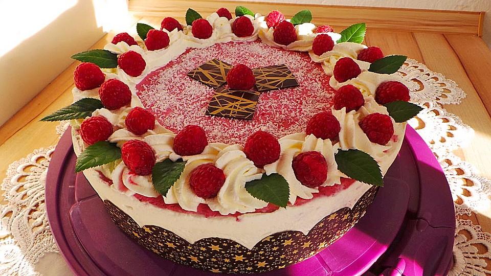 Himbeer Kokos Torte Von Finnin Chefkoch De