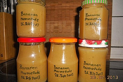 Bananenmarmelade 11