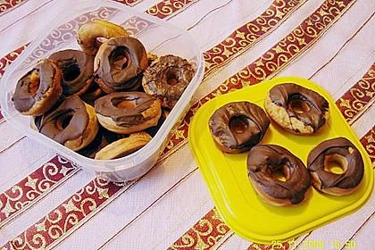 Donuts mit Schokolade 13