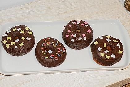 Donuts mit Schokolade 5