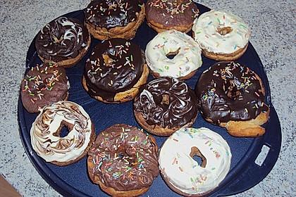 Donuts mit Schokolade 11