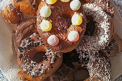 Donuts mit Schokolade 10