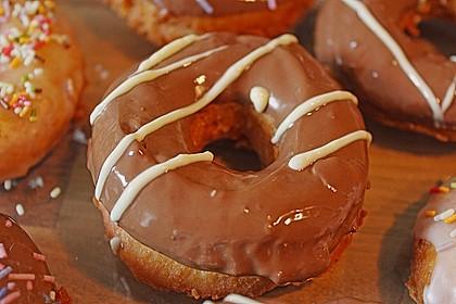 Donuts mit Schokolade 12