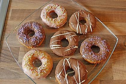 Donuts mit Schokolade 3