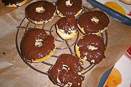 Donuts mit Schokolade 15