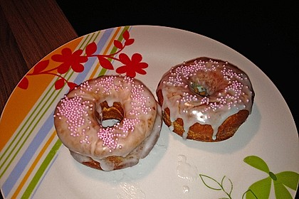 Donuts mit Schokolade 9