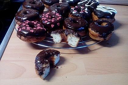 Donuts mit Schokolade 1
