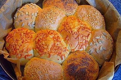 Frühstücks - Brötchen für Morgenmuffel 16