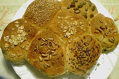 Frühstücks - Brötchen für Morgenmuffel 115