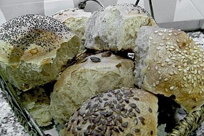 Frühstücks - Brötchen für Morgenmuffel 106